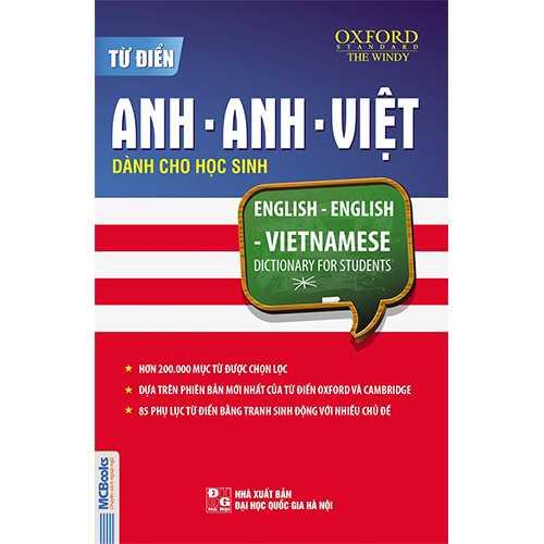 Từ điển Anh – Anh- Việt dành cho học sinh