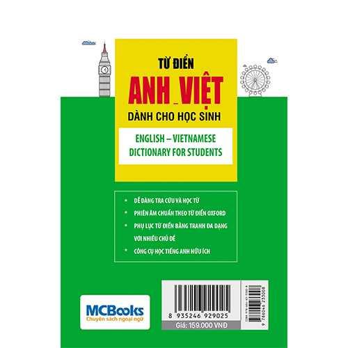 Từ điển Anh – Việt dành cho học sinh - Ảnh 4