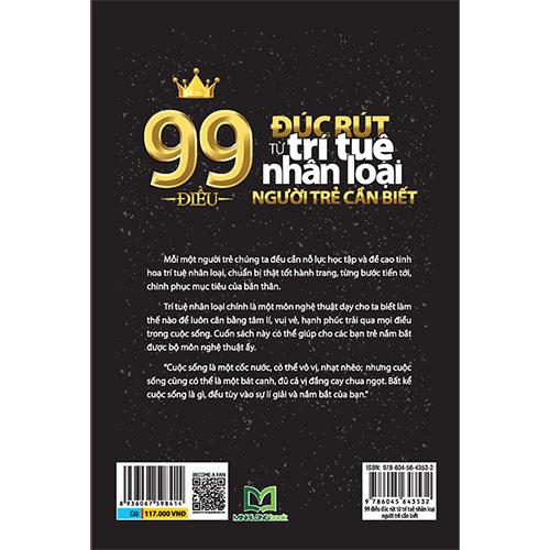 99 Điều Đúc Rút Từ Trí Tuệ Nhân Loại Người Trẻ Cần Biết - Ảnh 5