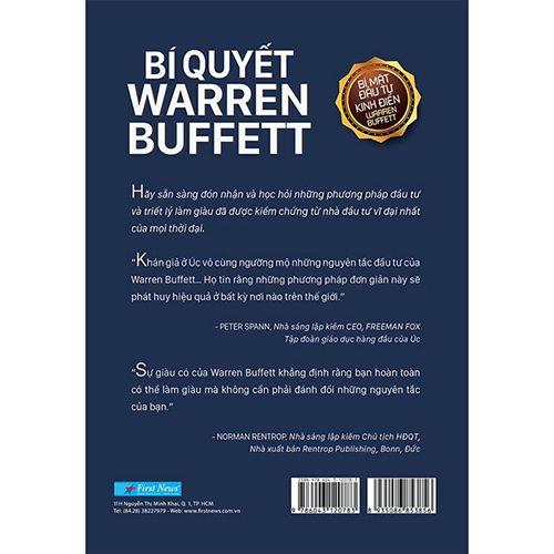 Bí Quyết Warren Buffett (Tái Bản 2020) - Ảnh 2