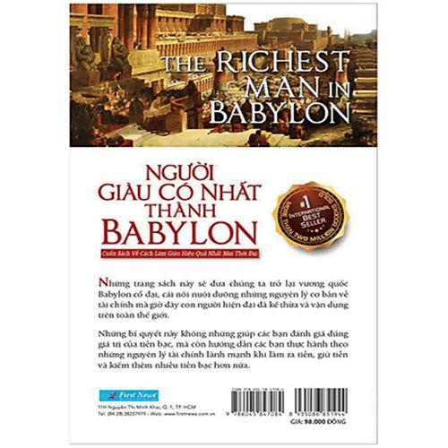 Người Giàu Có Nhất Thành Babylon - Ảnh 5
