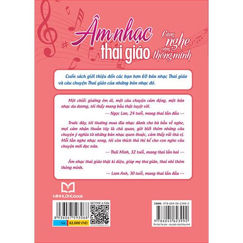 Âm Nhạc Thai Giáo - Càng Nghe Càng Thông Minh (Kèm CD) - Ảnh 5