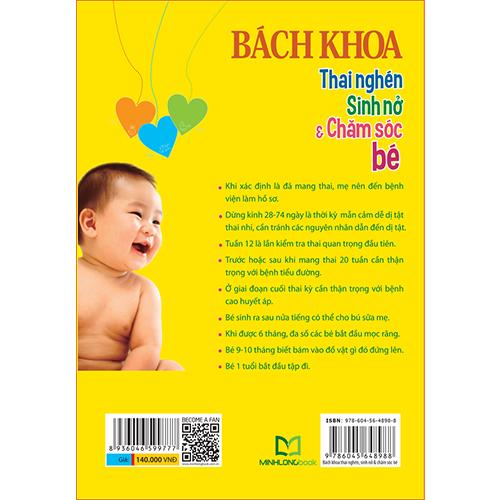 Bách Khoa Thai Nghén - Sinh Nở Và Chăm Sóc Em Bé - Ảnh 5
