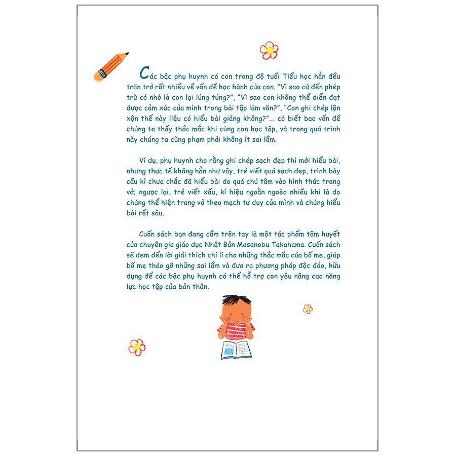 Để Việc Học Không Làm Khó Trẻ - Phương Pháp Bồi Dưỡng Năng Lực Học Tập Đặc Biệt Từ Chuyên Gia Nhật Bản - Ảnh 5