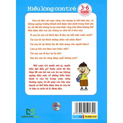 Hiểu Lòng Con Trẻ 3 - 6 Tuổi - Ảnh 5