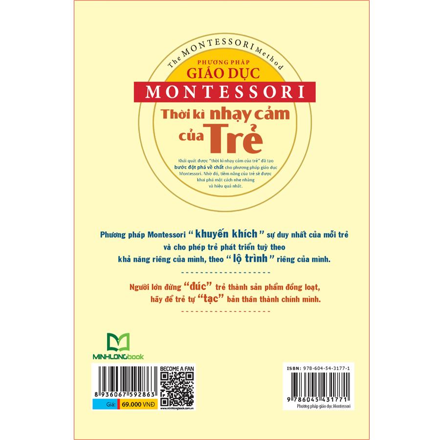 Phương Pháp Giáo Dục Montessori – Thời Kì Nhạy Cảm Của Trẻ - Ảnh 5