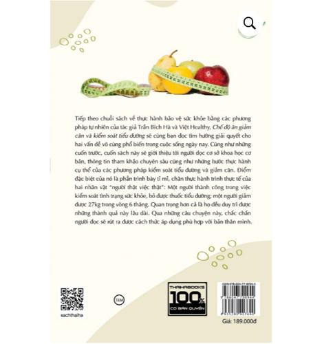 Chế Độ Ăn Giảm Cân Và Kiểm Soát Tiểu Đường - Ảnh 1