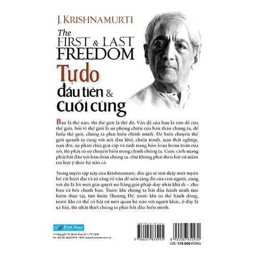 Tự Do Đầu Tiên Và Cuối Cùng - The First And Last Freedom - Ảnh 5