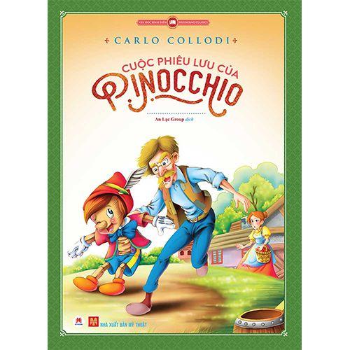 Cuộc Phiêu Lưu Của Pinocchio (Tranh Màu)