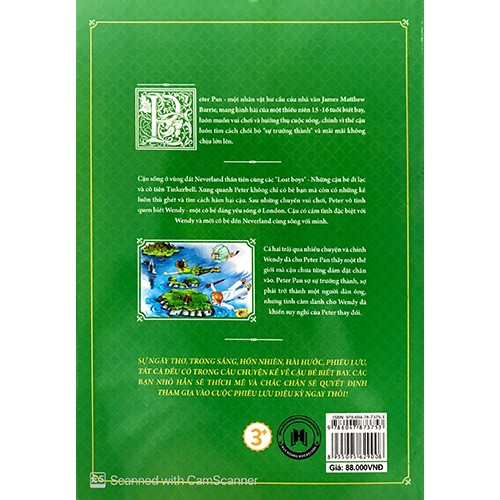 Peter Pan (Tranh Màu) - Ảnh 2