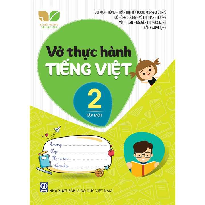 Vở Thực Hành Tiếng Việt 2 - Tập 1