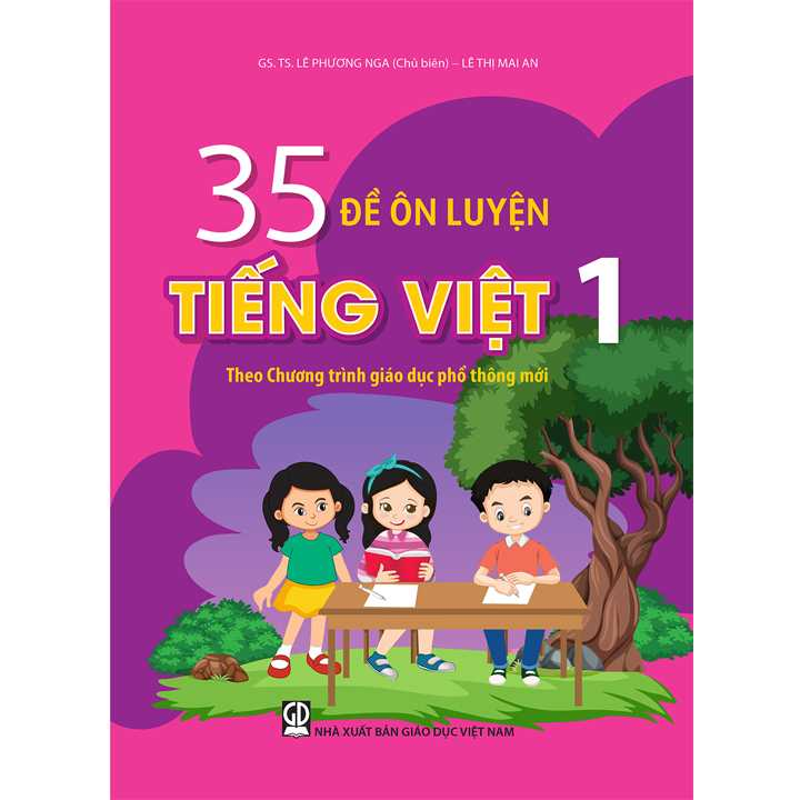 35 Đề Ôn Luyện Tiếng Việt Lớp 1