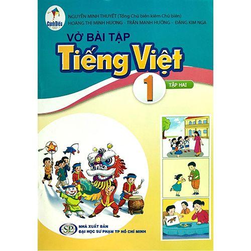 Vở Bài Tập Tiếng Việt 1 - Tập 2 (Bộ Sách Cánh Diều)