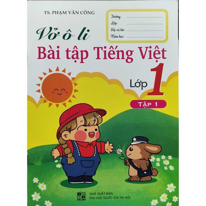 Vở Ô Li Bài Tập Tiếng Việt Lớp 1 - Tập 1 - Theo Chương Trình SGK Mới
