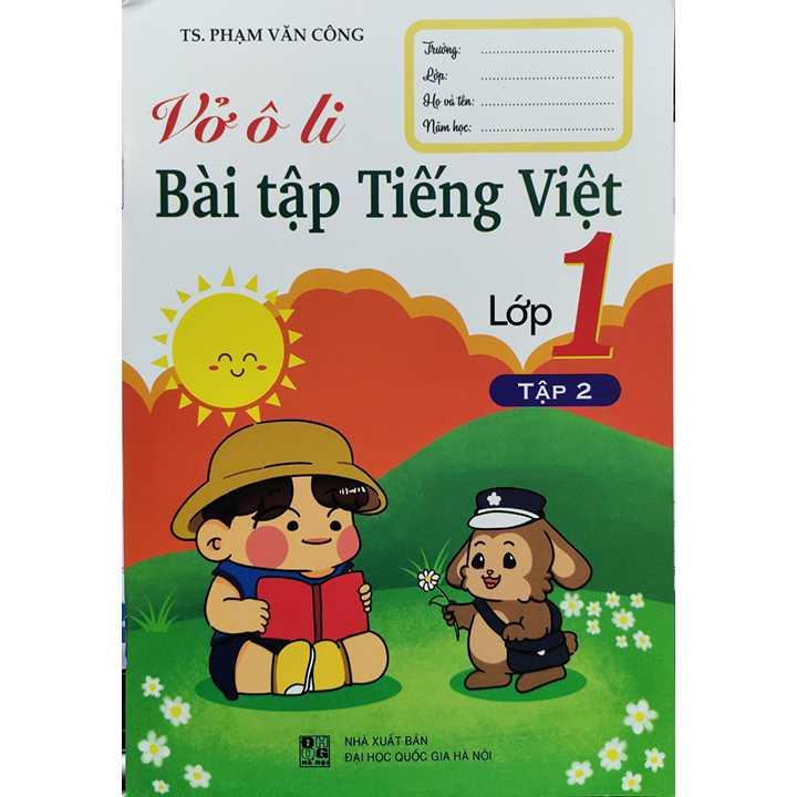 Vở Ô Li Bài Tập Tiếng Việt Lớp 1 - Tập 2 - Theo Chương Trình SGK Mới