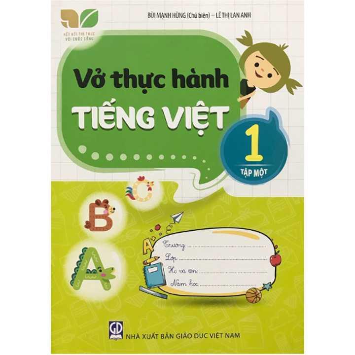 Vở thực hành Tiếng Việt lớp 1 tập 1 (Bộ Kết Nối)