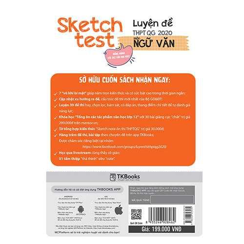 Sketch Test Luyện Đề THPTQG 2020 Môn Văn - Ảnh 2