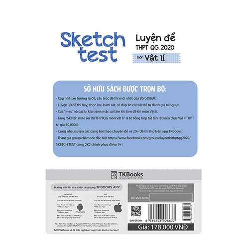 Sketch Test Luyện Đề THPTQG 2020 Môn Vật Lí - Ảnh 2