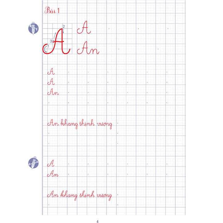 Luyện viết chữ đẹp Lớp 2 - Tập 1 - Ảnh 4