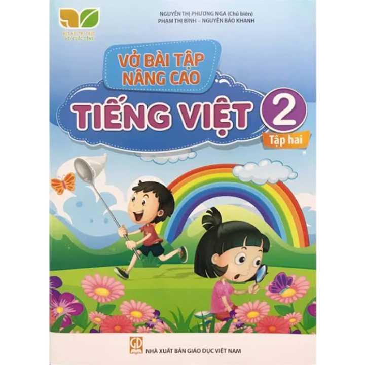 Vở Bài Tập Nâng Cao Tiếng Việt 2 - Tập 2 - Bộ Kết Nối