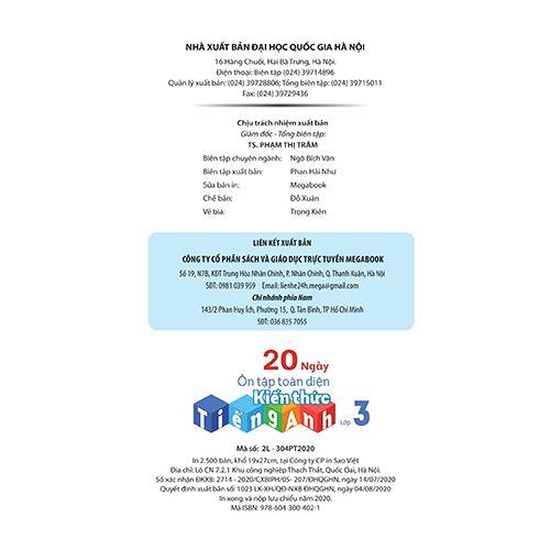 20 Ngày Ôn Tập Toàn Diện Kiến Thức Tiếng Anh Lớp 3 - Ảnh 5