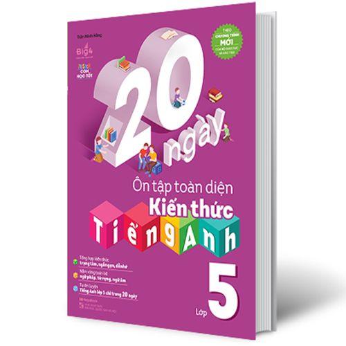 20 Ngày Ôn Tập Toàn Diện Kiến Thức Tiếng Anh Lớp 5 - Ảnh 1