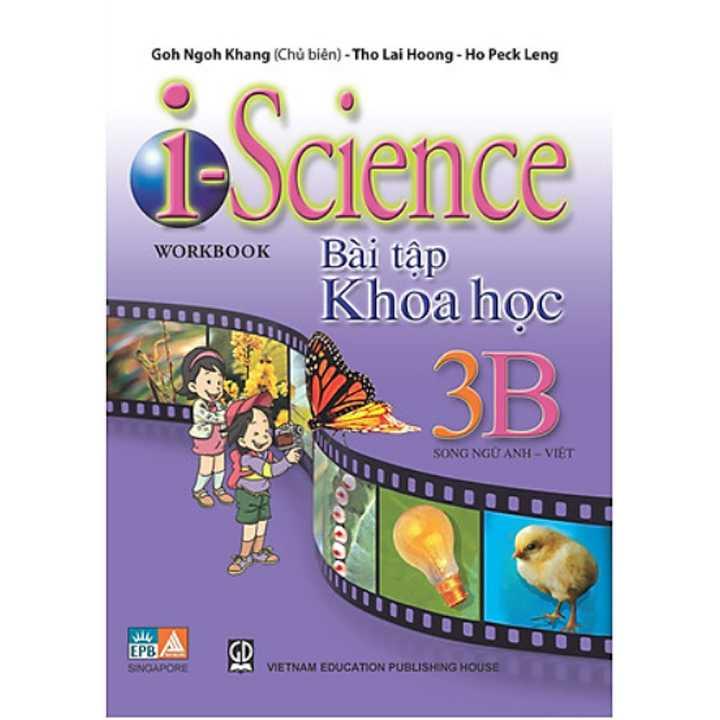 I - Science Workbook 3A- Bài Tập Khoa học Lớp 3 (Song ngữ Anh - Việt) - Ảnh 2