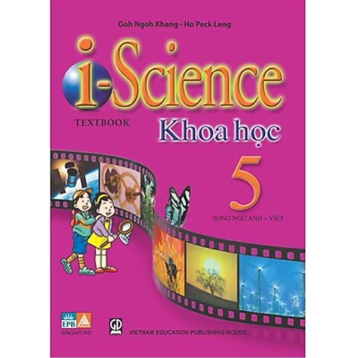 Sách Khoa Học I Science (song ngữ) lớp 5