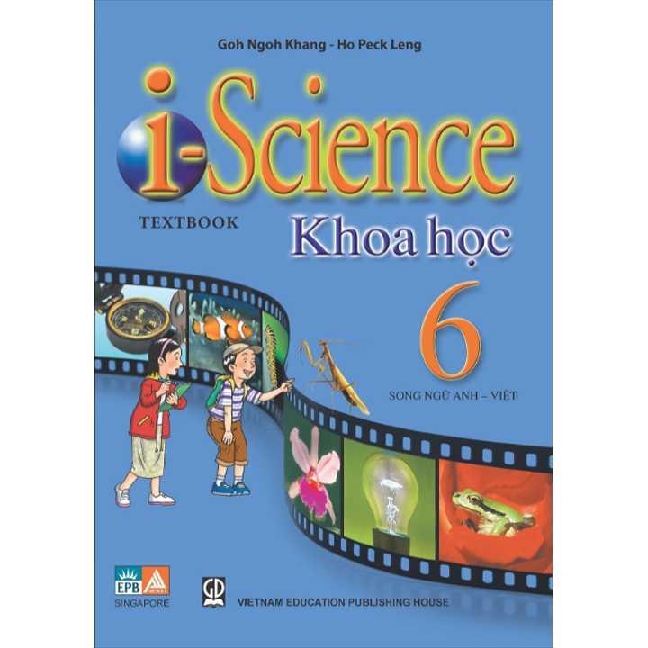 Sách Khoa Học I Science (song ngữ) lớp 6