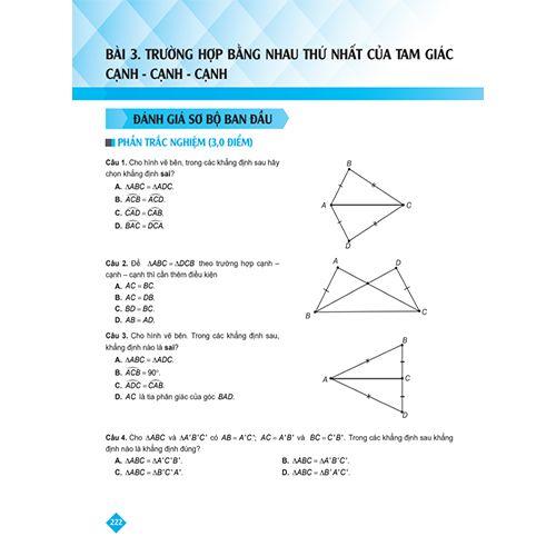 Bí Quyết Tăng Nhanh Điểm Kiểm Tra - Toán 7 - Tập 1 - Ảnh 5