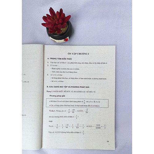Trọng tâm kiến thức và phương pháp giải bài tập Toán 7 (Tập 1) - Ảnh 2