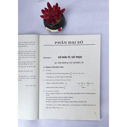 Trọng tâm kiến thức và phương pháp giải bài tập Toán 7 (Tập 1) - Ảnh 4