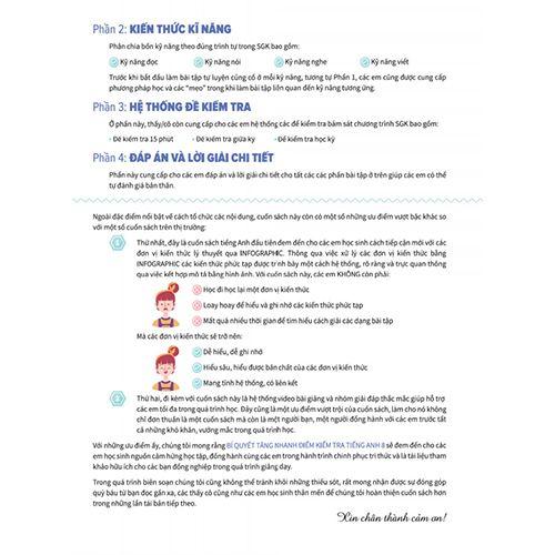 Bí Quyết Tăng Nhanh Điểm Kiểm Tra - Tiếng Anh 8 - Tập 1 - Ảnh 6