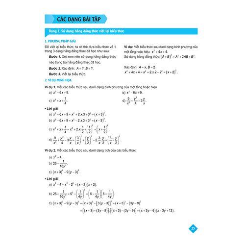 Bí Quyết Tăng Nhanh Điểm Kiểm Tra - Toán 8 - Tập 1 - Ảnh 9