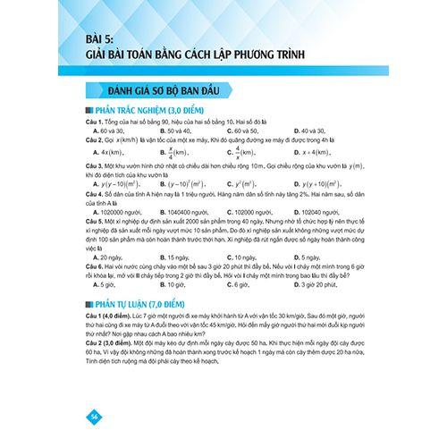 Bí Quyết Tăng Nhanh Điểm Kiểm Tra - Toán 8 - Tập 2 - Ảnh 9