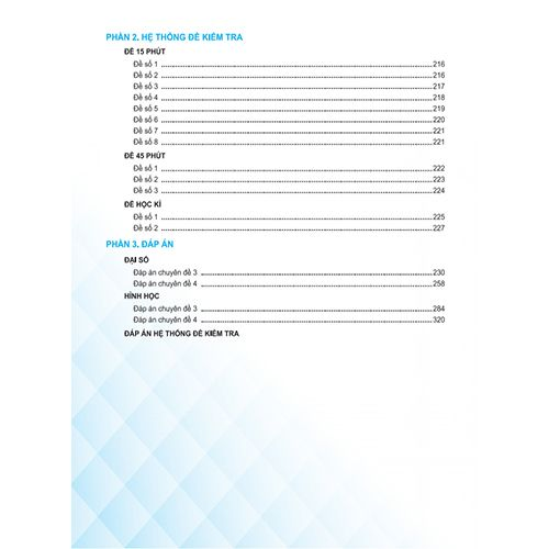 Bí Quyết Tăng Nhanh Điểm Kiểm Tra - Toán 8 - Tập 2 - Ảnh 5