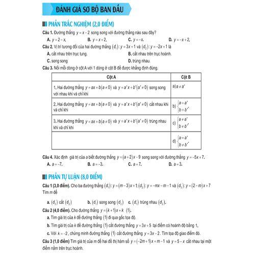 Bí Quyết Tăng Nhanh Điểm Kiểm Tra - Toán 9 - Tập 1 - Ảnh 4