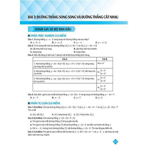 Bí Quyết Tăng Nhanh Điểm Kiểm Tra - Toán 9 - Tập 1 - Ảnh 3