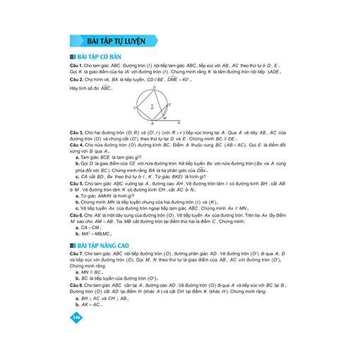 Bí Quyết Tăng Nhanh Điểm Kiểm Tra - Toán 9 - Tập 2 - Ảnh 5
