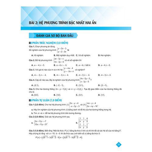 Bí Quyết Tăng Nhanh Điểm Kiểm Tra - Toán 9 - Tập 2 - Ảnh 2