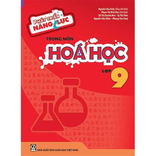 Phát triển năng lực trong môn Hóa học - Lớp 9