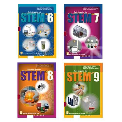 Combo Hoạt động giáo dục STEM - Dành Cho THCS