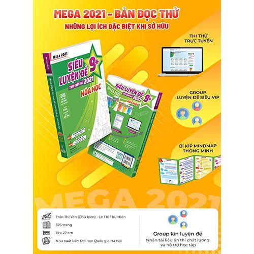 Mega 2021 - Siêu Luyện Đề 9+ THPT Quốc Gia 2021 Môn Hóa Học - Ảnh 9