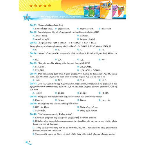 Mega 2021 - Siêu Luyện Đề 9+ THPT Quốc Gia 2021 Môn Hóa Học - Ảnh 6