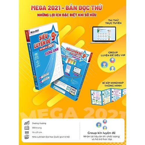 Mega 2021 - Siêu Luyện Đề 9+ THPT Quốc Gia 2021 Môn Tiếng Anh - Ảnh 8