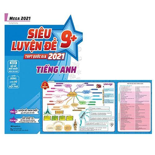 Mega 2021 - Siêu Luyện Đề 9+ THPT Quốc Gia 2021 Môn Tiếng Anh - Ảnh 2