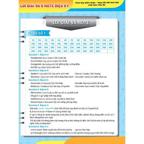 Mega 2021 - Siêu Luyện Đề 9+ THPT Quốc Gia 2021 Môn Tiếng Anh - Ảnh 9