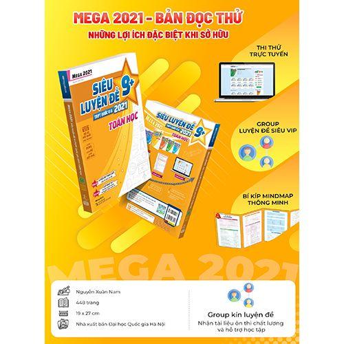 Mega 2021 - Siêu Luyện Đề 9+ THPT Quốc Gia 2021 - Toán Học - Ảnh 9