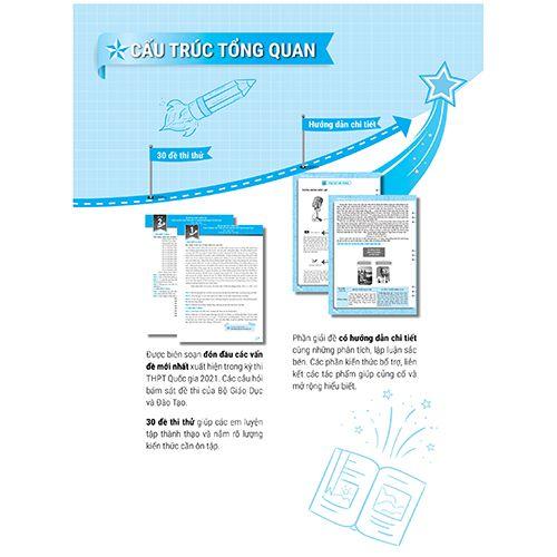 Mega 2021 - Siêu Luyện Đề 9+ THPT Quốc Gia 2021 Môn Văn Học - Ảnh 5