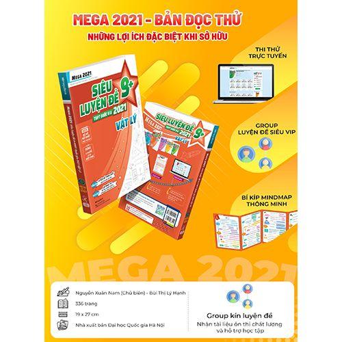 Mega 2021 - Siêu Luyện Đề 9+ THPT Quốc Gia 2021 Môn Vật Lý - Ảnh 8